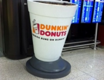 BOSTON Dunkin Donuts Cup