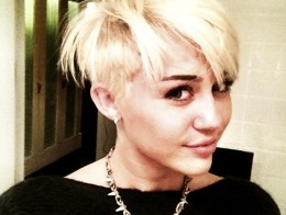 Miley's new do